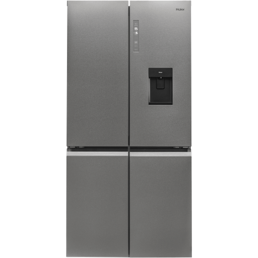 Haier HTF-520WP7 American Fridge Freezer - Platinum