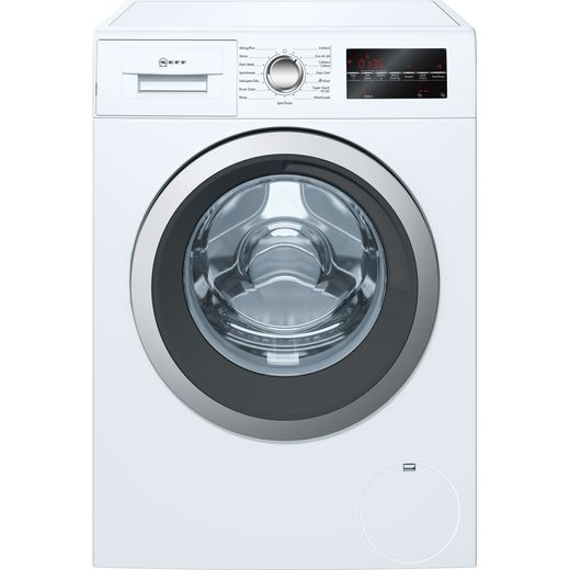 NEFF W7460X5GB 9Kg Washing Machine with 1400 rpm - White - C Rated