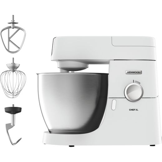 Kenwood Chef XL KVL4100W Stand Mixer with 6.7 Litre Bowl - White