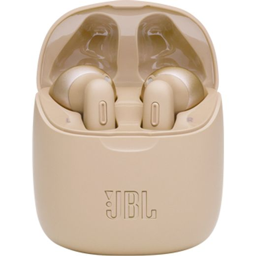 JBL Tune 225TWS In-Ear Bluetooth Headphones - Gold