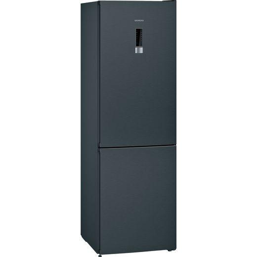 Siemens IQ-300 KG36NXXDC 60/40 Frost Free Fridge Freezer - Black Steel - D Rated