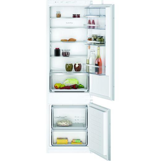 NEFF N70 KI5872SE0G Integrated 70/30 Fridge Freezer with Sliding Door Fixing Kit - White - E Rated