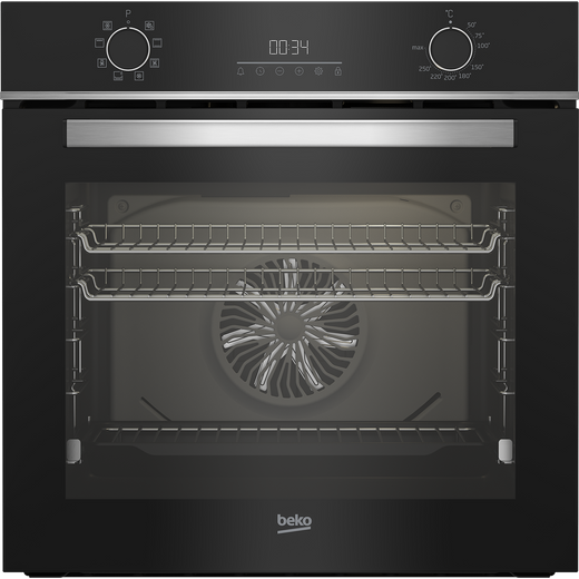 Beko AeroPerfect™ BBIM14300BC Built In Electric Single Oven - Black - A Rated