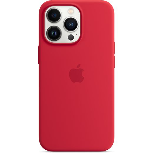Apple Silicone Case for iPhone 13 Pro - (PRODUCT) RED