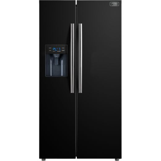 Stoves SXS905 American Fridge Freezer - Black - F Rated