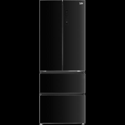 Beko MN13790B American Fridge Freezer - Black - A+ Rated
