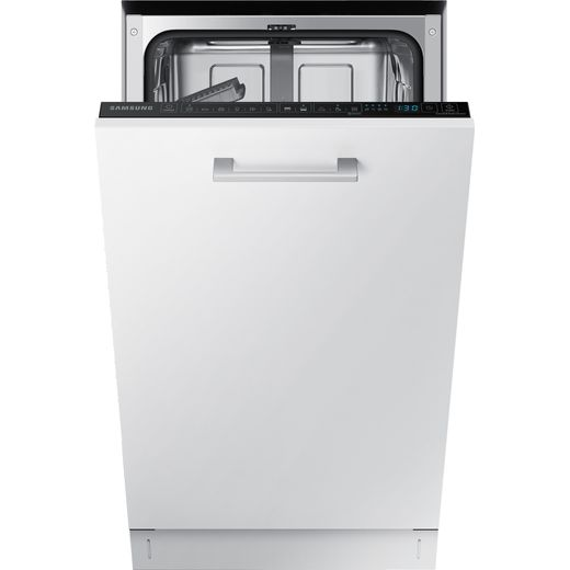 Samsung DW50R4060BB Fully Integrated Slimline Dishwasher - Black Control Panel with Fixed Door Fixing Kit - E Rated