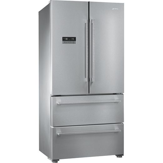 Smeg FQ55FXDF American Fridge Freezer - Stainless Steel - F Rated