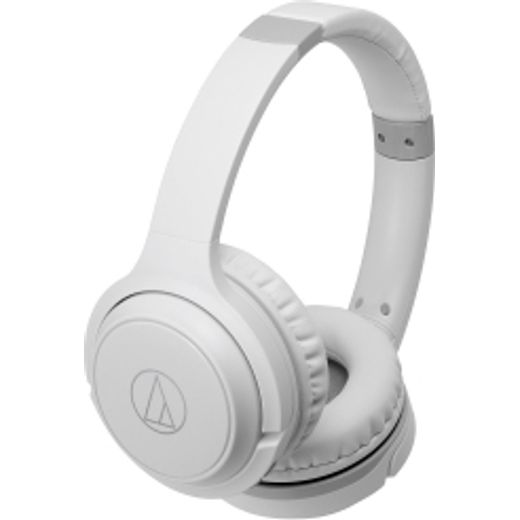 Audio Technica ATH-S200BT Head-band Bluetooth Headphones - White