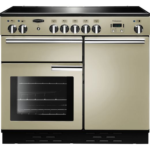 Rangemaster Professional Plus PROP100EICR/C 100cm Electric Range Cooker with Induction Hob - Cream - A/A Rated