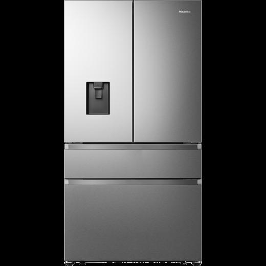 Hisense RF749N4WIF American Fridge Freezer - Stainless Steel - F Rated