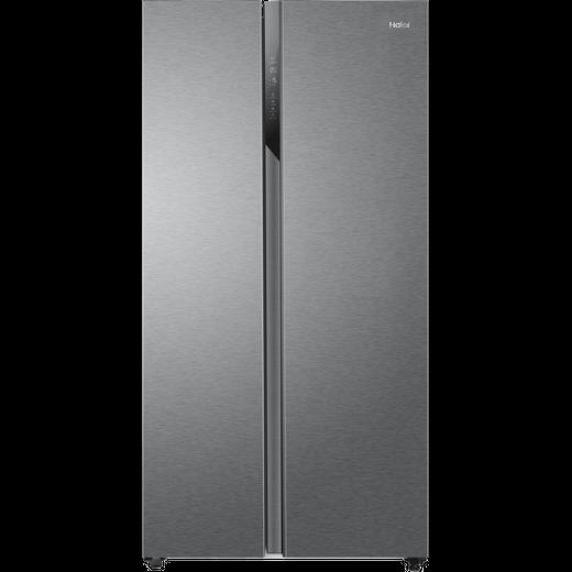 Haier HSR3918ENPG American Fridge Freezer - Silver