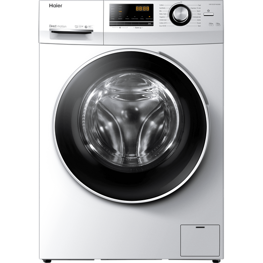 Haier HW100-B14636N 10Kg Washing Machine with 1400 rpm - White - A Rated