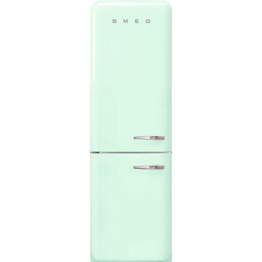 Smeg Left Hand Hinge FAB32LPG5UK 60/40 Frost Free Fridge Freezer - Pastel Green - D Rated