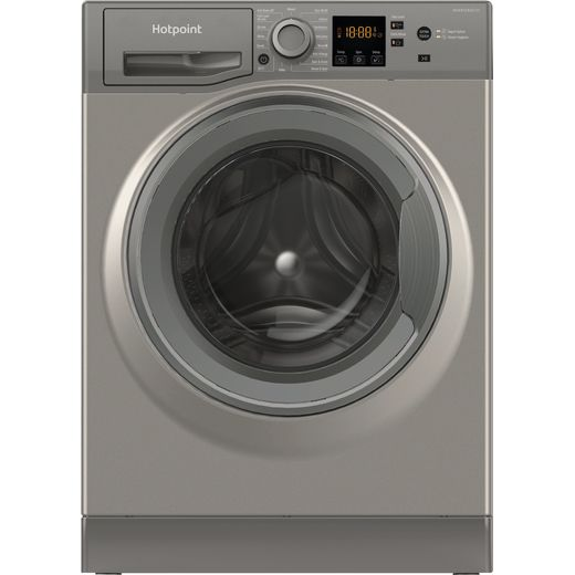 Hotpoint NSWM1043CGGUKN 10Kg Washing Machine with 1400 rpm - Graphite - D Rated