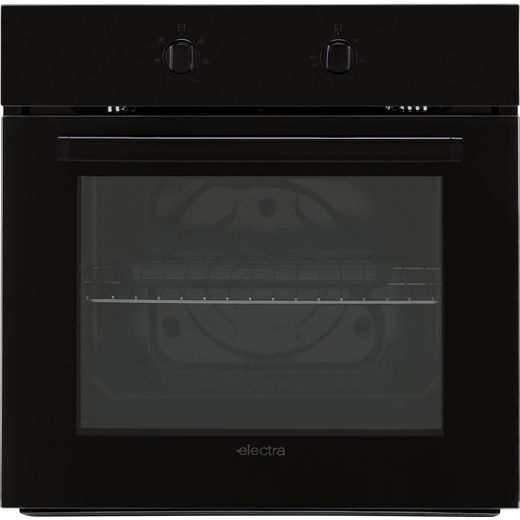 Electra BIS72B Built In Electric Single Oven - Black - A Rated