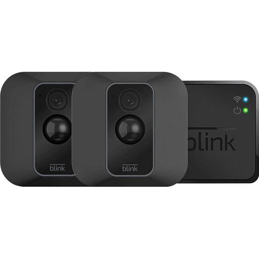 Blink XT2 Smart Home Security Camera - 2 Camera System Full HD 1080p - Black