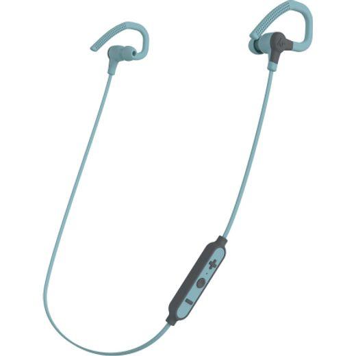Kitsound Race 15 Ear-hook,In-ear Water Resistant Bluetooth Sports Headphones - Pastel Blue