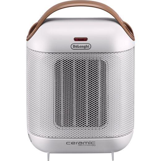 De'Longhi Capsule HFX30C18.IW Fan Heater 1800W - Cream