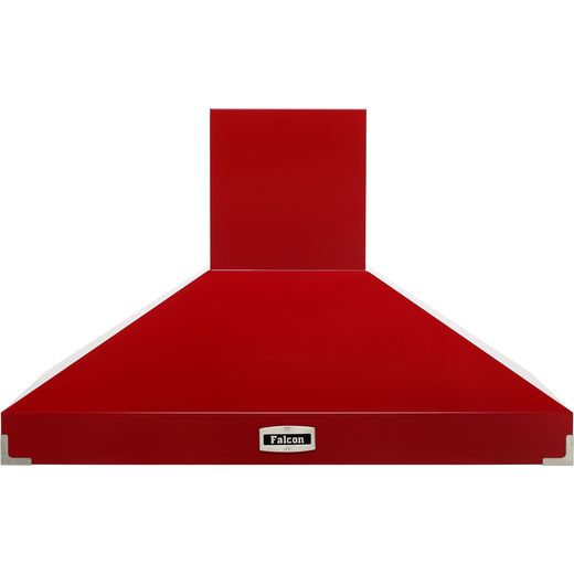 Falcon FHDSE1092RD/N 110 cm Chimney Cooker Hood - Cherry Red - A Rated
