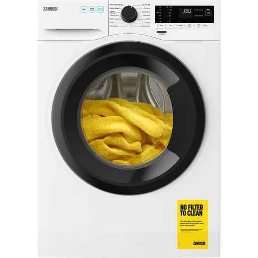 Zanussi ZWF144A2DG 10Kg Washing Machine with 1400 rpm - White - D Rated