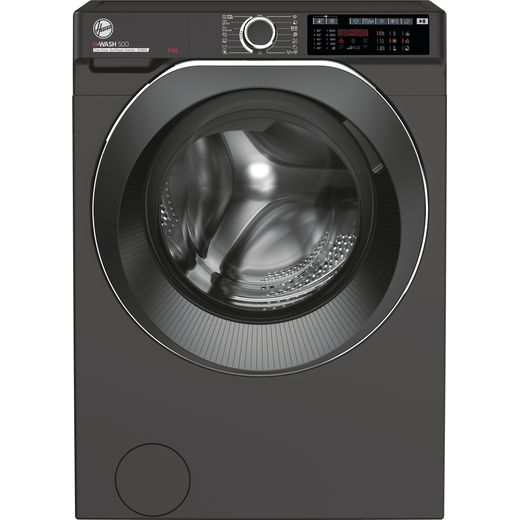 Hoover H-WASH 500 HWD69AMBCR/1 Wifi Connected 9Kg Washing Machine with 1600 rpm - Graphite - A Rated