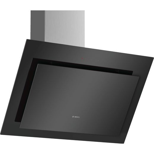 Bosch Serie 4 DWK87CM60B 79 cm Angled Chimney Cooker Hood - Stainless Steel - B Rated