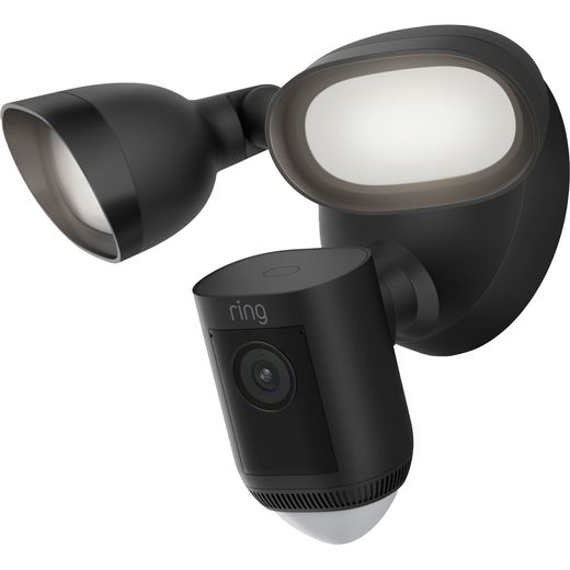 Ring Floodlight Cam Wired Pro Full HD 1080p - Black