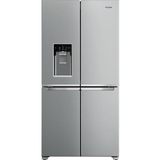 Whirlpool WQ9IMO1LUK Wifi Connected American Fridge Freezer - Silver - F Rated
