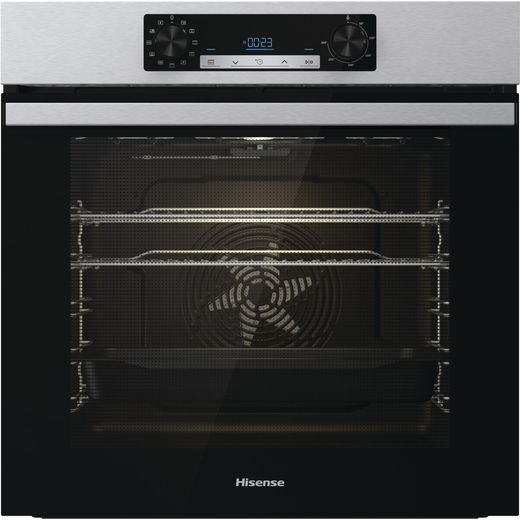Hisense BI62212AXUK Built In Electric Single Oven - Stainless Steel - A Rated