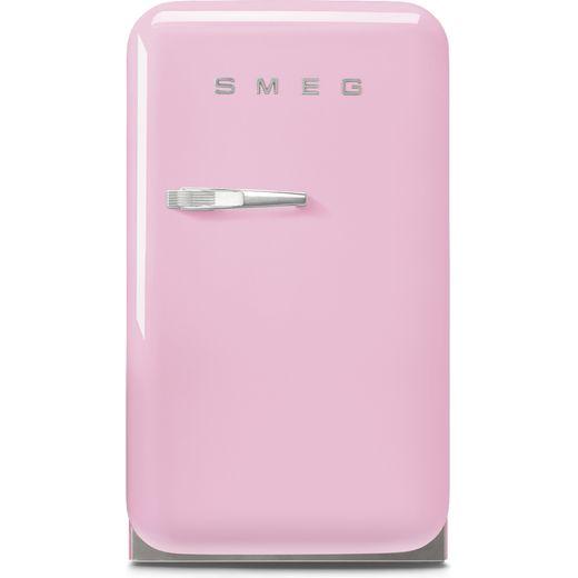 Smeg Right Hand Hinge FAB5RPK5 Fridge - Pink - D Rated