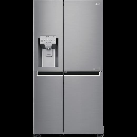 LG Door-in-Door™ GSJ961PZVV American Fridge Freezer - Steel