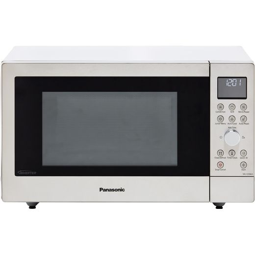 Panasonic NN-CD58JSBPQ 27 Litre Combination Microwave Oven - Silver