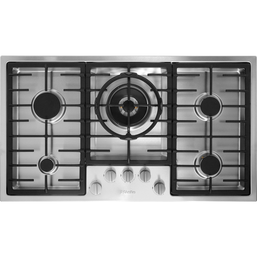 Miele KM2354 Built In Gas Hob - Stainless Steel