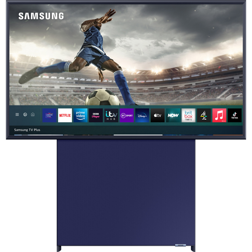"""Samsung QLED QE43LS05TA 43"""" Smart 4K Ultra HD TV With 100% Colour Volume, With Quantum Processor 4K and Apple TV App"""