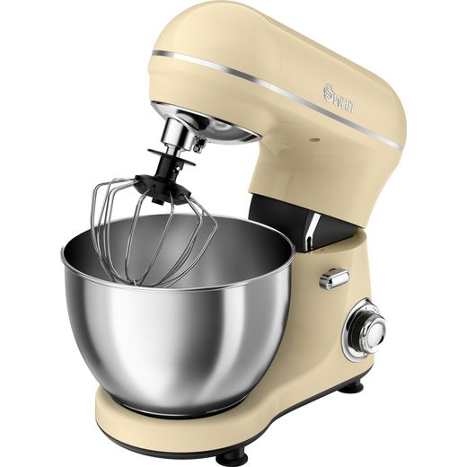 Swan Retro SP21060CN Stand Mixer with 4 Litre Bowl - Cream