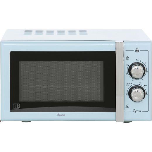 Swan Retro SM22070BLN 25 Litre Microwave - Blue