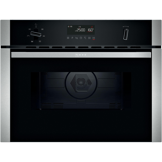 NEFF N50 C1AMG84N0B Built In Combination Microwave Oven - Stainless Steel