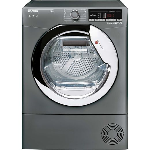 Hoover HLEC9TCER 9Kg Condenser Tumble Dryer - Graphite - B Rated