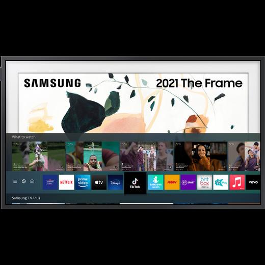 "Samsung QLED QE65LS03AA 65"" 4K Ultra HD TV, With Quantum Processor 4K and Apple TV App"
