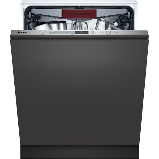 NEFF N30 S153HCX02G Wifi Connected Fully Integrated Standard Dishwasher - Stainless Steel Control Panel - D Rated