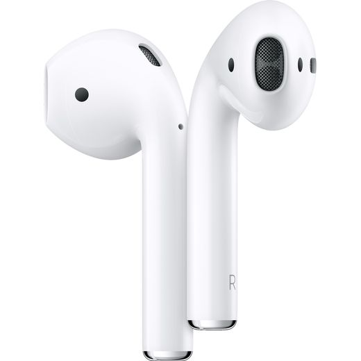 Apple AirPods with Wireless Charging Case (2nd Gen) -White