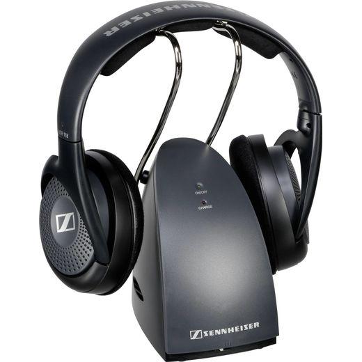 Sennheiser RS 118 TV On-Ear Headphones - Black