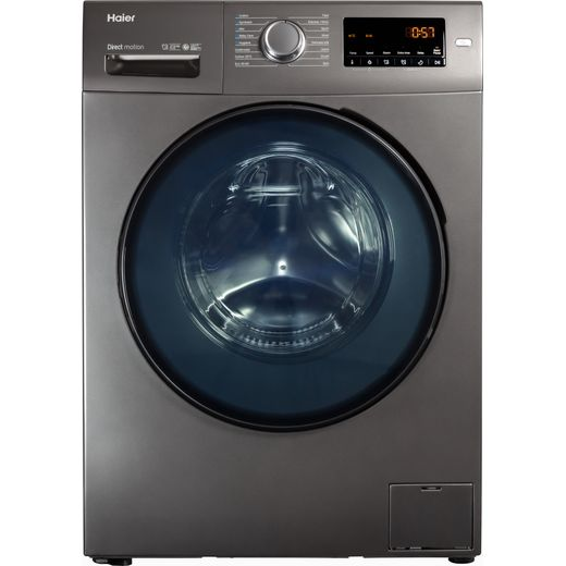 Haier HW90-B1439NS8 9Kg Washing Machine with 1400 rpm - Graphite - A Rated