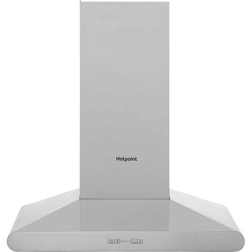 Hotpoint PHC67FLBIX 60 cm Chimney Cooker Hood - Stainless Steel - B Rated