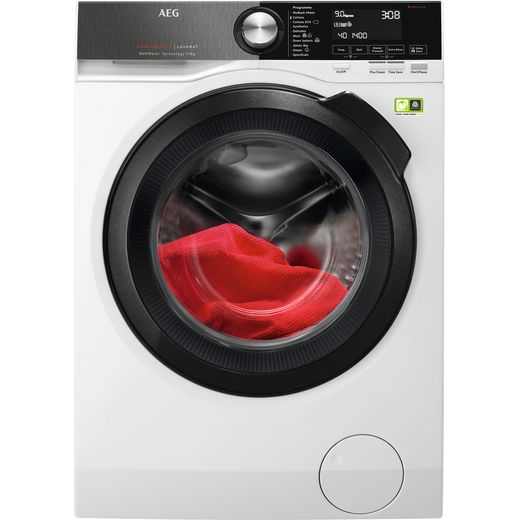 AEG L9FEB969C Wifi Connected 9Kg Washing Machine with 1600 rpm - White - A Rated