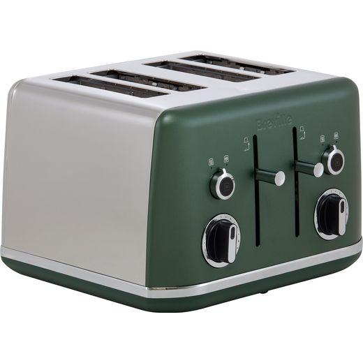 Breville Lustra Collection VTT992 4 Slice Toaster - Matte Forest Green