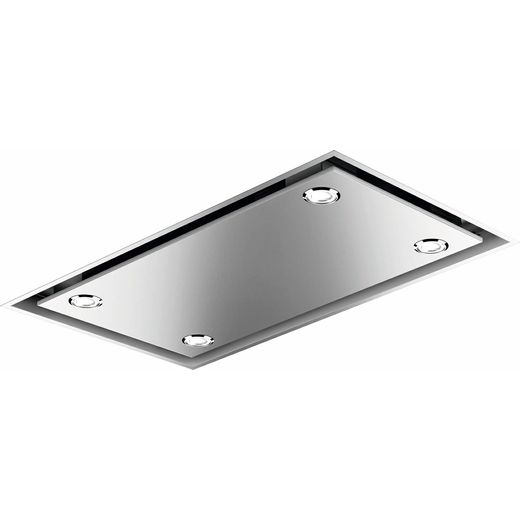 Smeg KSCB90XE Ceiling Cooker Hood - Stainless Steel - A+ Rated