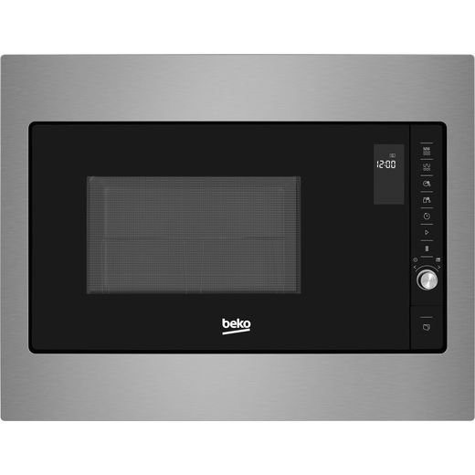 Beko MGI25332BG Built In Microwave With Grill - Stainless Steel
