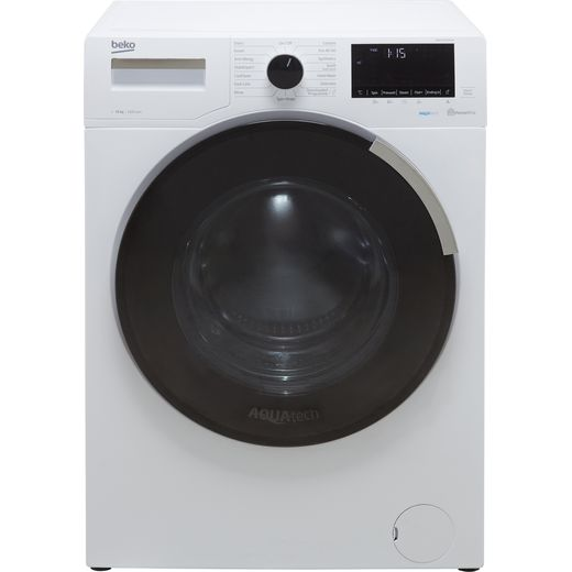 Beko WER104P64E1W 10Kg Washing Machine with 1400 rpm - White - A Rated